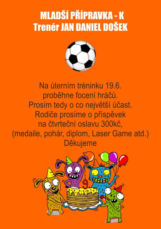 fotbal upozornění